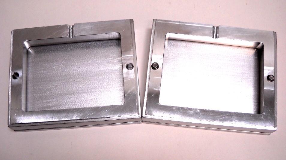 large frame for epoxy molds