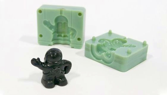 Using 3D printed molds for plastic injection