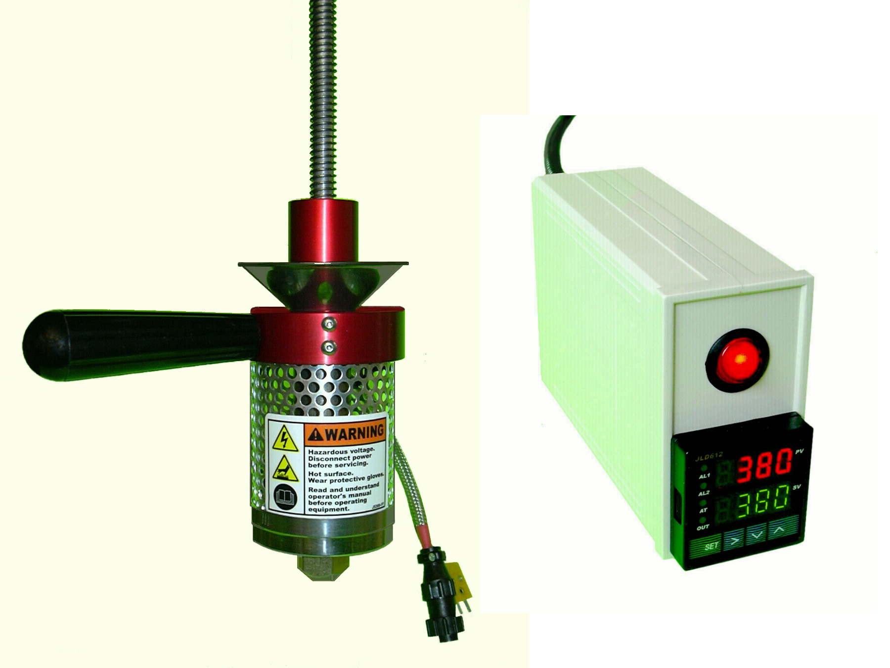 Model 20A INJECTOR & TEMPERATURE CONTROL