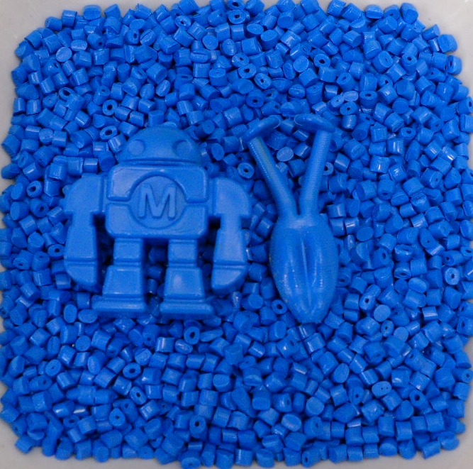 Blue Polypropylene Pellets