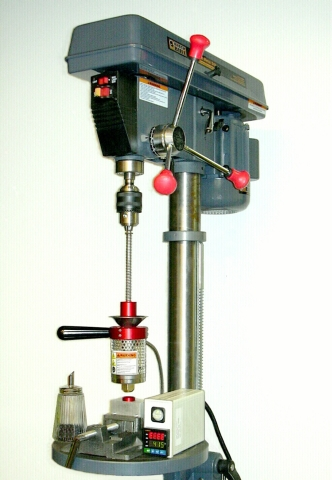 Model 20A in Drillpress