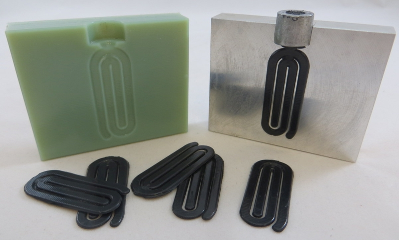 Plastic Injection into 3D Printed Molds
